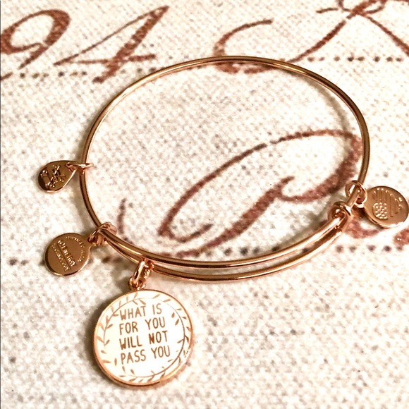 f8f515f16b117 What's For You Will Never Pass You Charm Bracelet